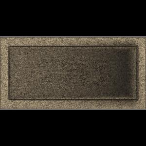 Kratki prostokątne Kratka czarno-złota 22x45