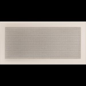 Kratki prostokątne Kratka kremowa 22x45