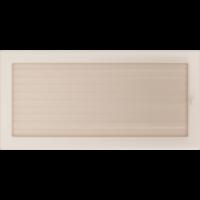 Kratki prostokątne Kratka kremowa z żaluzją 22x45