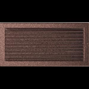 Kratki prostokątne Kratka miedziana z żaluzją 22x45