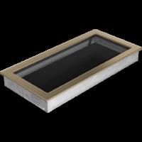Kratki prostokątne Kratka złoto galwaniczne 22x45