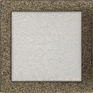 Kratki prostokątne Kratka czarno-złota 22x22