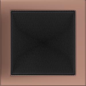 Kratki prostokątne Kratka miedź galwaniczna 22x22