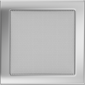 Kratki prostokątne Kratka niklowana 22x22