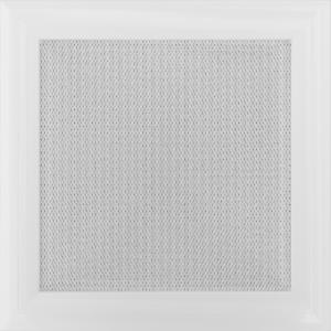 Kratki prostokątne Kratka Oskar biała 22x22