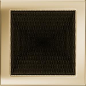 Kratki prostokątne Kratka pozłacana 22x22