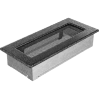 Kratki prostokątne Kratka czarno-srebrna 11x24