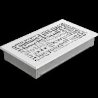 kratki ozdobne Kratka ABC biała 17x30