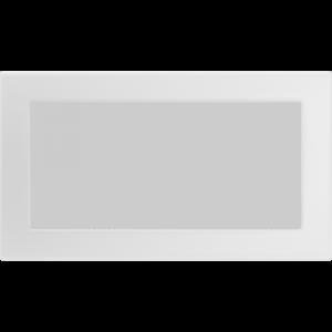 Kratki prostokątne Kratka biała 17x30