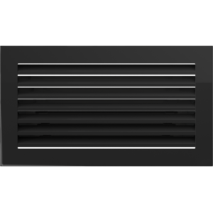 Kratki prostokątne Kratka FRESH czarna 17x30