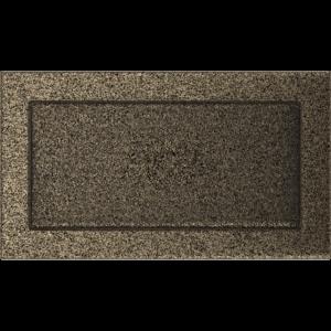 Kratki prostokątne Kratka czarno-złota 17x30
