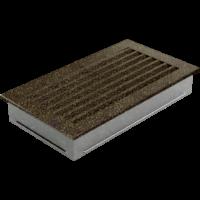 Kratki prostokątne Kratka FRESH czarno-złota 17x30