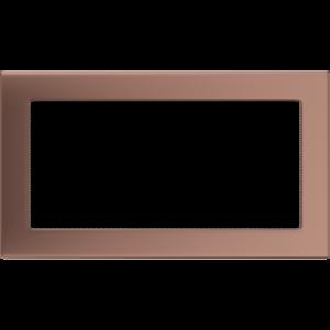 Kratki prostokątne Kratka miedź galwaniczna 17x30
