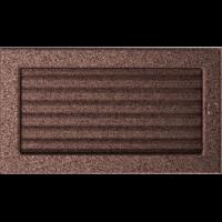 Kratki prostokątne Kratka miedziana z żaluzją 17x30