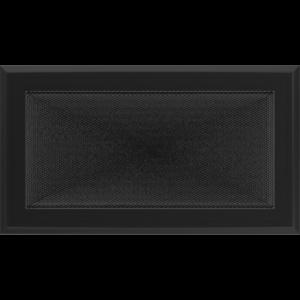 Kratki prostokątne Kratka Oskar czarna 17x30