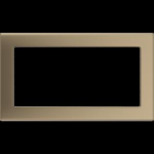 Kratki prostokątne Kratka złoto galwaniczne 17x30