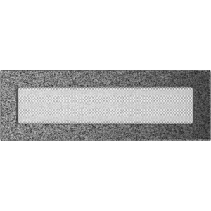 Kratki prostokątne Kratka czarno-srebrna 11x32