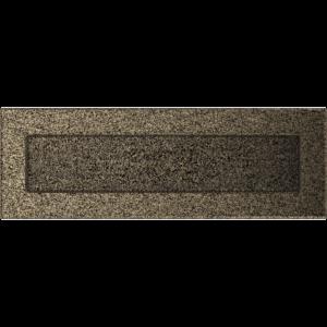 Kratki prostokątne Kratka czarno-złota 11x32