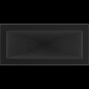 Kratki prostokątne Kratka czarna 17x37