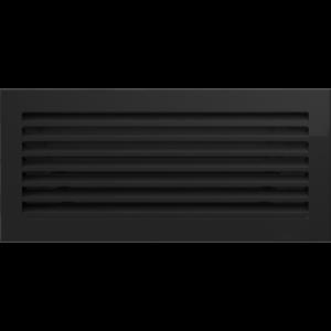 Kratki prostokątne Kratka FRESH czarna 17x37