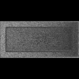 Kratki prostokątne Kratka czarno-srebrna 17x37