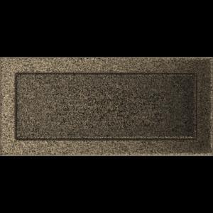 Kratki prostokątne Kratka czarno-złota 17x37
