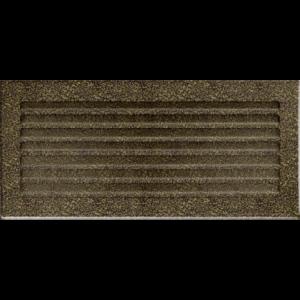 Kratki prostokątne Kratka FRESH czarno-złota 17x37