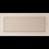 Kratki prostokątne Kratka kremowa z żaluzją 17x37