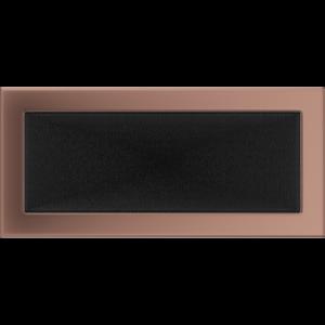Kratki prostokątne Kratka miedź galwaniczna 17x37