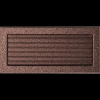 Kratki prostokątne Kratka miedziana z żaluzją 17x37