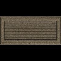 Kratki prostokątne Kratka Oskar czarno-złota z żaluzją 17x37