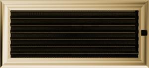 Kratki prostokątne Kratka Oskar z żaluzją 17x37