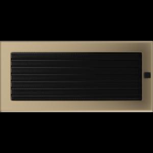 Kratki prostokątne Kratka złoto galwaniczne z żaluzją 17x37