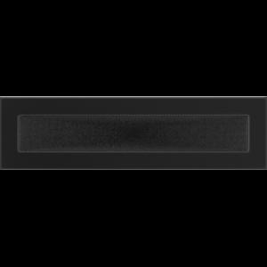 Kratki prostokątne Kratka czarna 11x42