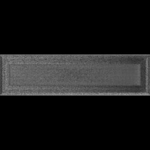 Kratki prostokątne Kratka Oskar czarno-srebrna 11x42