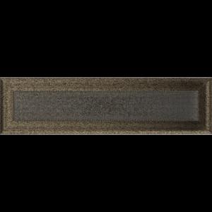 Kratki prostokątne Kratka Oskar czarno-złota 11x42