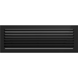 Kratki prostokątne Kratka FRESH czarna 17x49