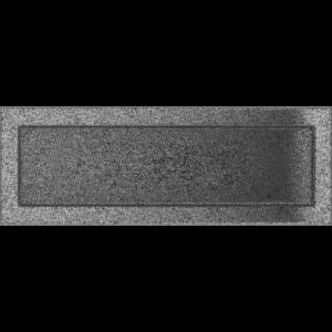 Kratki prostokątne Kratka czarno-srebrna 17x49