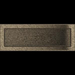 Kratki prostokątne Kratka czarno-złota 17x49