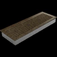 Kratki prostokątne Kratka FRESH czarno-złota 17x49