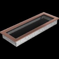 Kratki prostokątne Kratka miedź galwaniczna 17x49