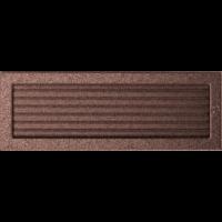 Kratki prostokątne Kratka miedziana z żaluzją 17x49