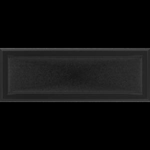 Kratki prostokątne Kratka Oskar czarna 17x49