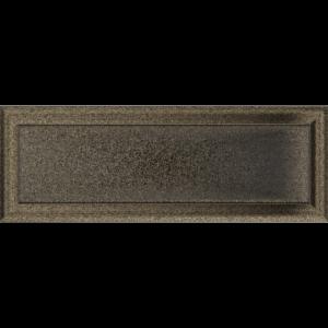 Kratki prostokątne Kratka Oskar czarno-złota 17x49