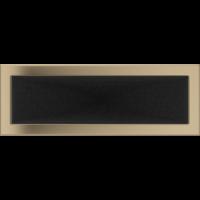 Kratki prostokątne Kratka złoto galwaniczne 17x49