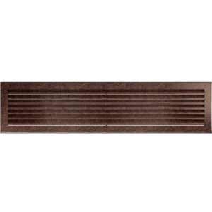Kratki prostokątne Kratka FRESH miedziana 17x70