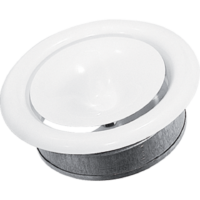 Anemostat biały fi 150