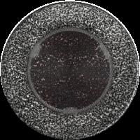 Kratki okrągłe Kratka okrągła czarno-srebrna fi 100