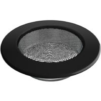 kratki okrągłe Kratka okrągła czarna fi 125