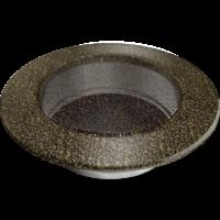kratki okrągłe Kratka okrągła czarno-złota fi 125